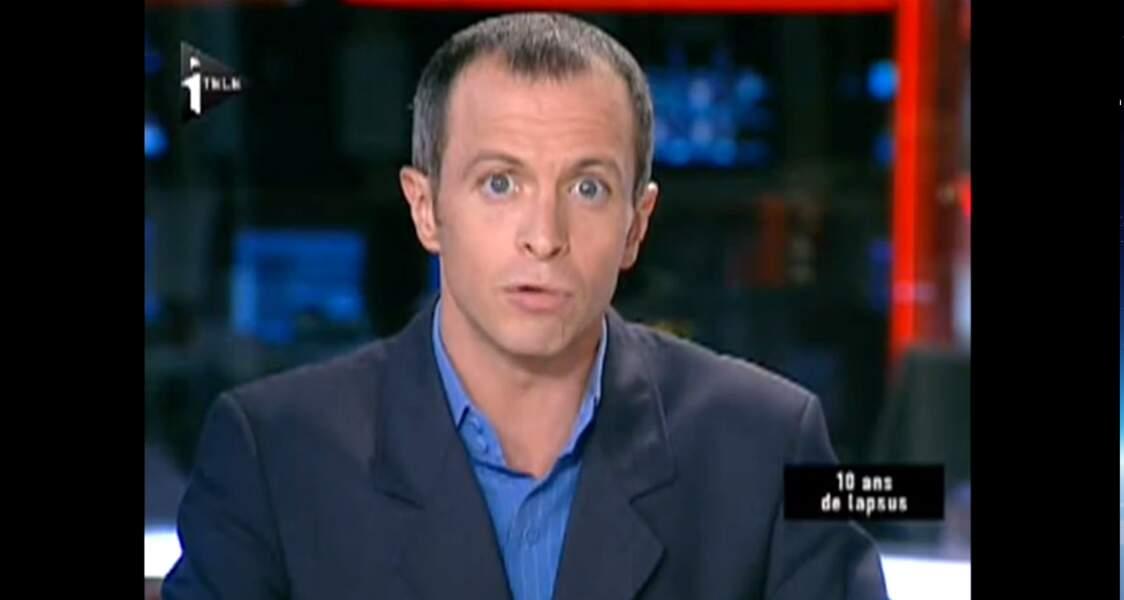 Samuel Etienne a animé les journaux du soir sur iTELE.