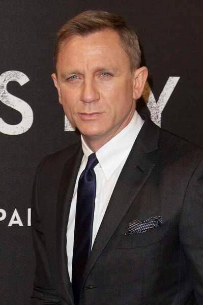 Daniel Craig et ses beaux yeux bleus