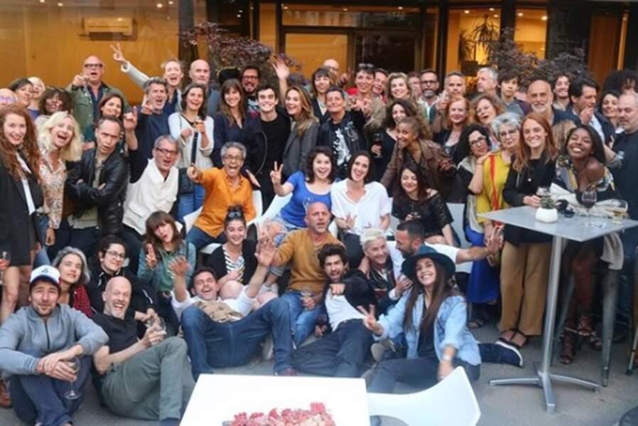 Fin de tournage dans la joie à Montpellier !