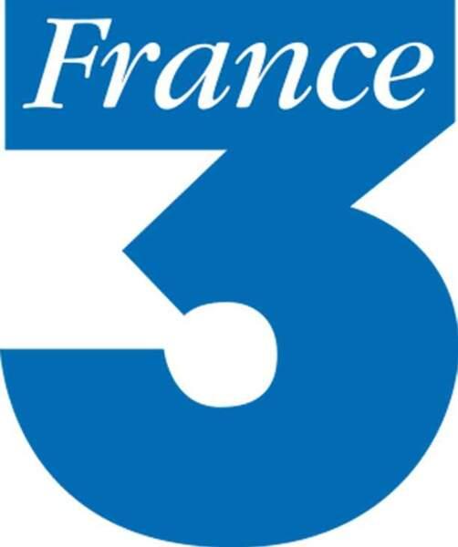 Logo France 3 de 1992 à 2002