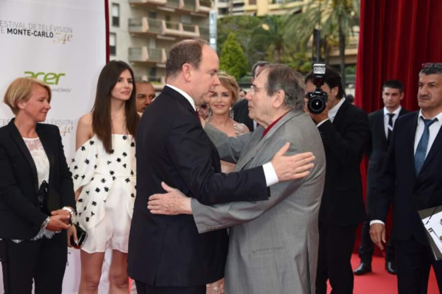 Prince Albert et Robert Hossein