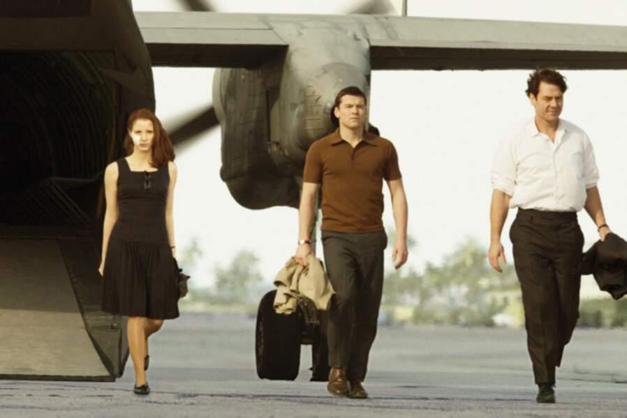 Espionne isréalienne dans L'Affaire Rachel Singer (2011), en compagnie de Sam Worthington et Marton Csokas