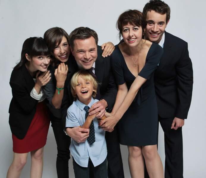 Avec toute sa famille Lepic dans la série Fais pas ci, Fais pas ça (2007-présent)