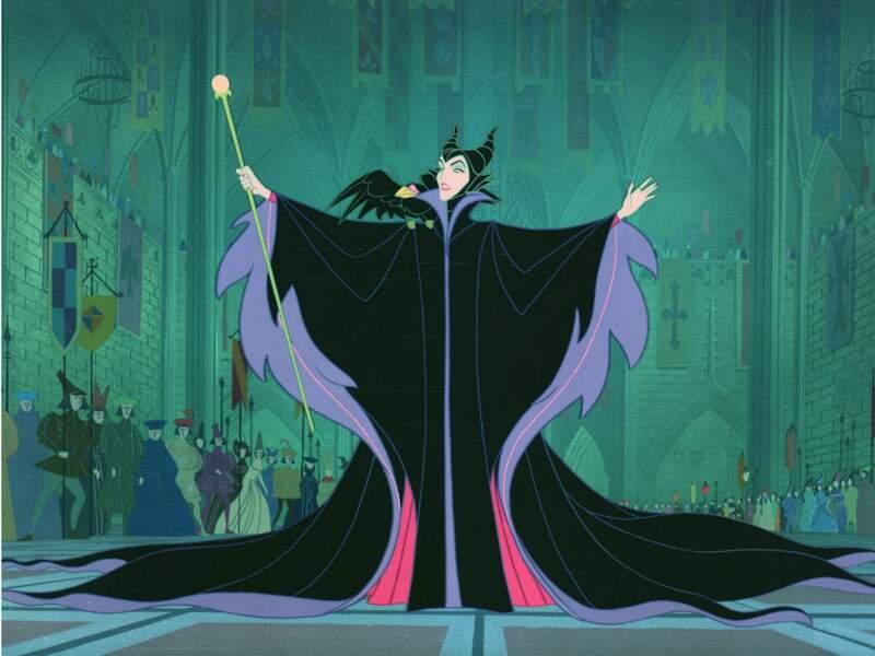 L'impitoyable Maléfique dans le dessin animé Alice au pays des merveilles