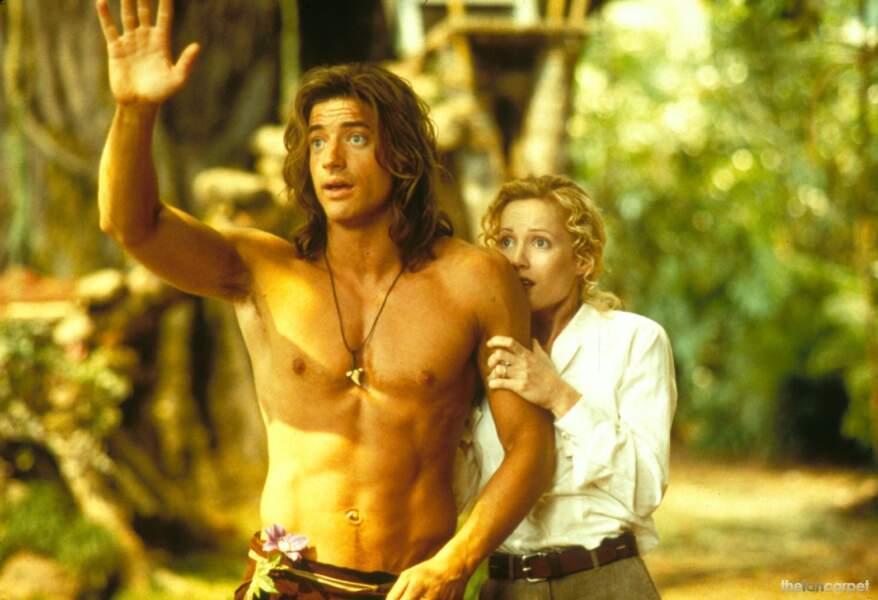 George de la jungle en 1997, c'est un peu le cousin maladroit de Tarzan...