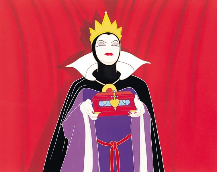 La méchante Reine dans le film d'animation Blanche-Neige et les sept nains