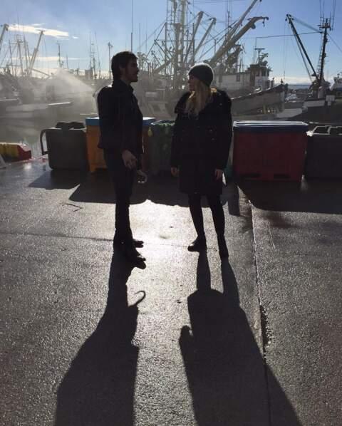 Jennifer Morrison et Colin O'Donoghue fidèles au poste dans Once Upon A Time.