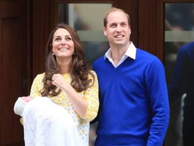Bébé royal : Kate et William présentent leur petite princesse avec baby George
