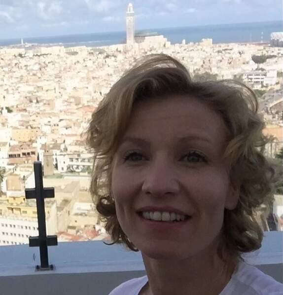 À Casablanca pour le tournage du film L'Amour qu'il nous faut