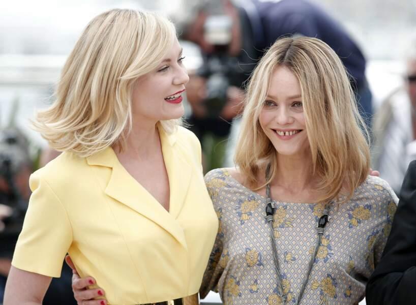 Kirsten Dunst et Vanessa Paradis vont visiblement très bien s'entendre !