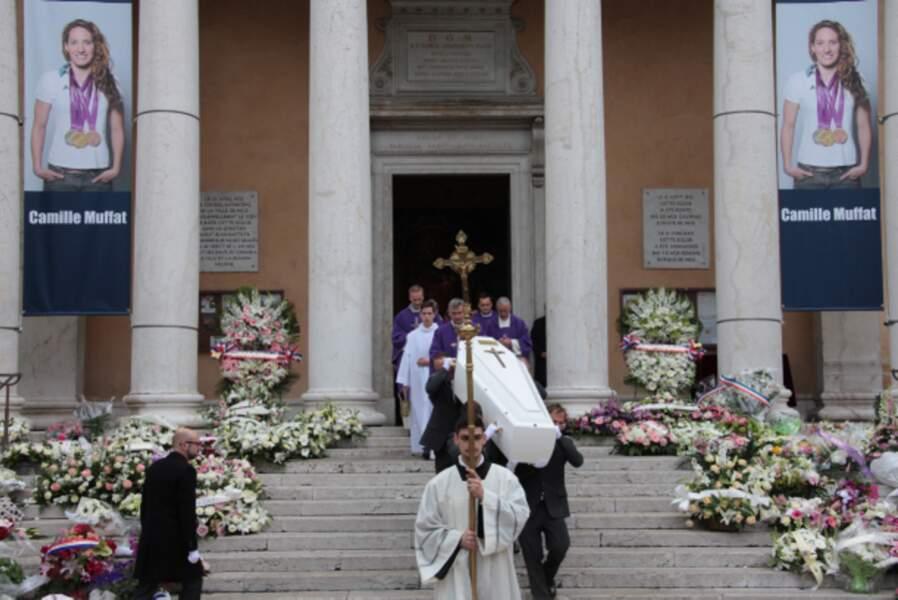 Camille Muffat a été inhumée à l'église Saint-Jean-Baptiste-Le-Voeu à Nice, sa ville natale