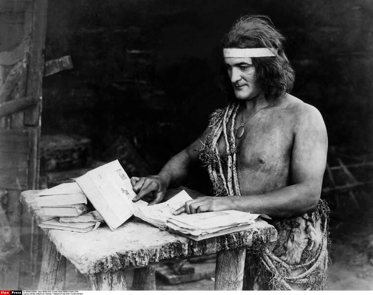 L'acteur Elmo Lincoln est le premier à tenir le rôle culte de Tarzan... en 1918 !