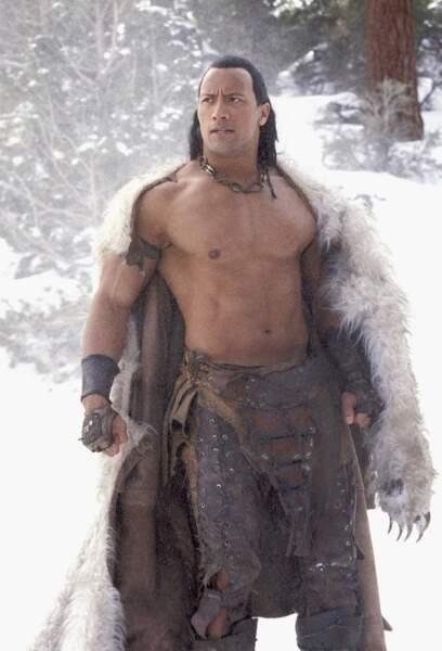 Il reprendra son rôle du Roi Scorpion dans le film du même nom, sorti en 2002