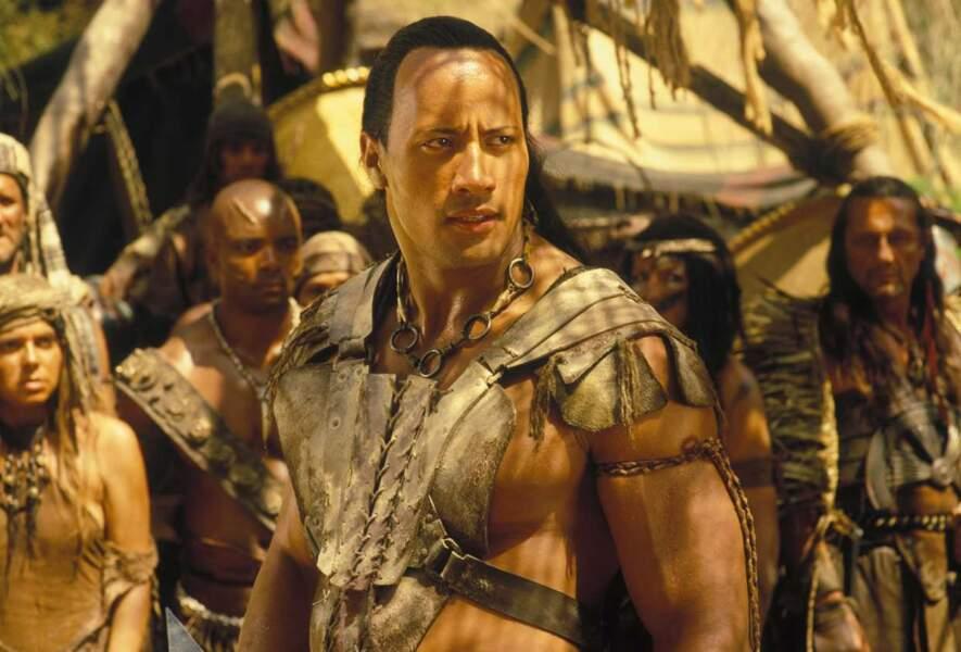 """Avec """"Le Retour de la momie"""", Dwayne se lance dans le cinéma. Sa musculature est bien évidemment mise en avant"""