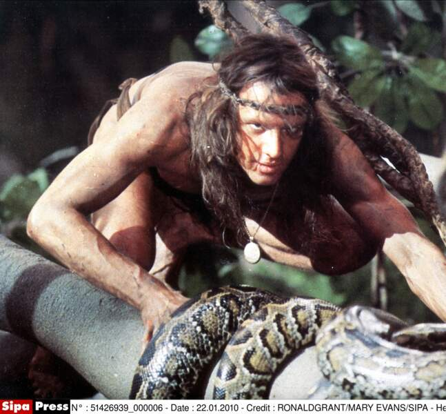 Dans Greystoke, la légende de Tarzan (1984), c'est Christophe Lambert qui est envoyé dans la jungle