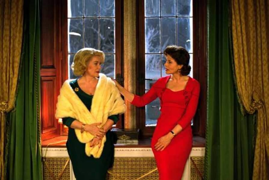 Catherine Deneuve et Fanny Ardant dans 8 Femmes (2002)