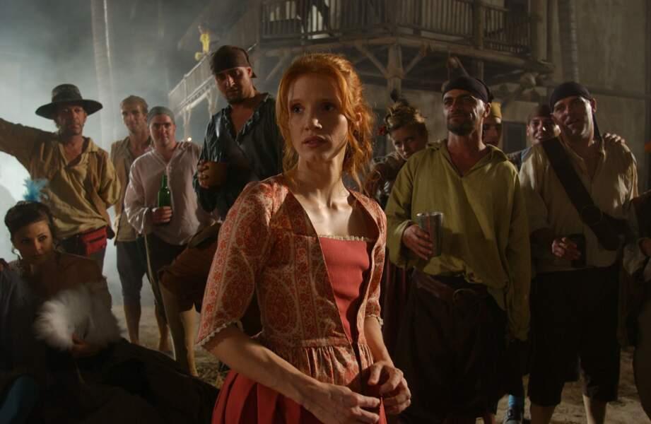L'un de ses premiers rôles dans le téléfilm Le Trésor de Barbe-Noire (2006)