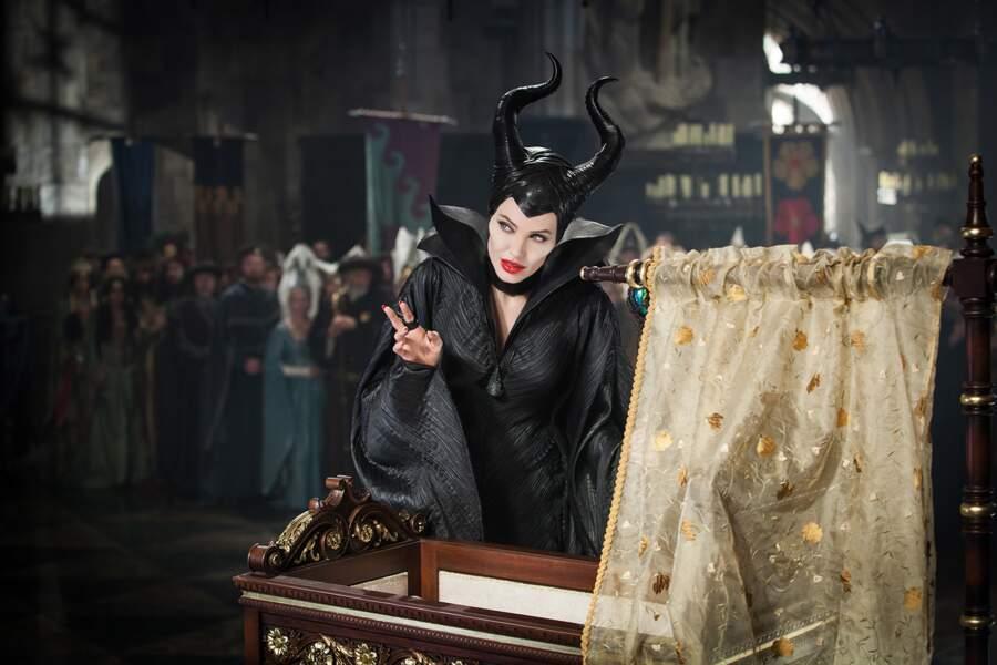 En 2014, elle revient en chair et en os et sous les traits d'Angelina Jolie dans le film de Robert Stromberg