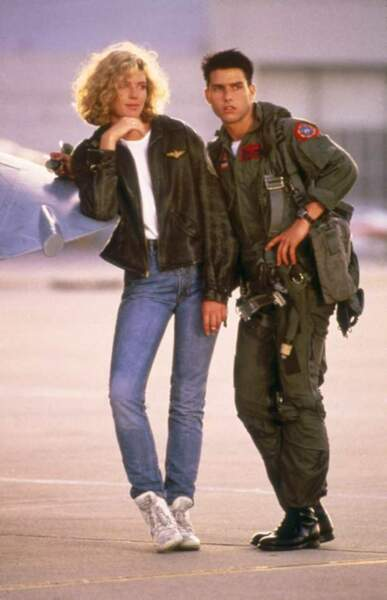 Top Gun, avec Kelly McGillis (1986)