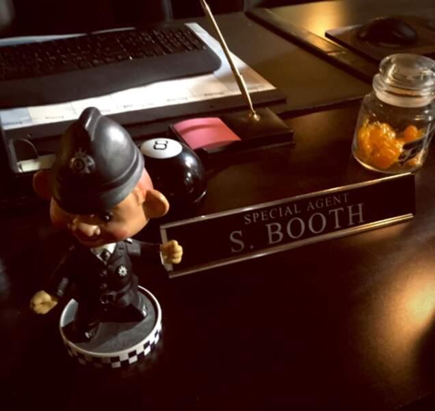David Boreanaz est de retour derrière le bureau de Booth