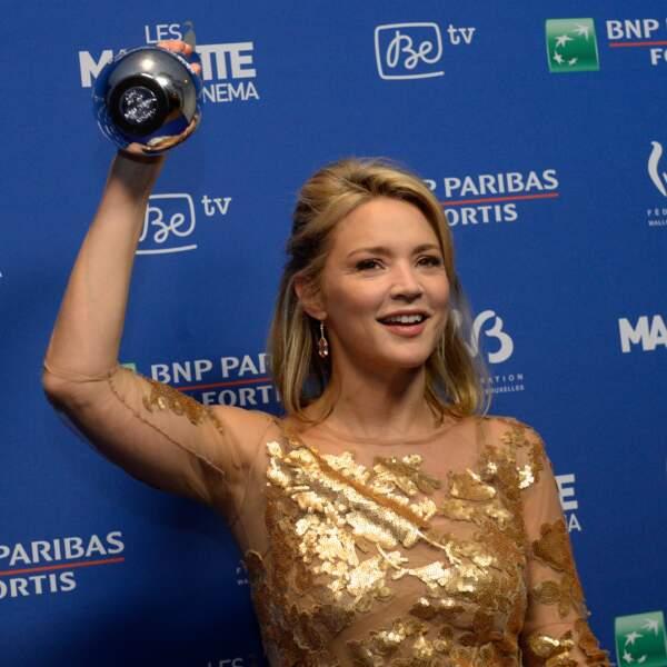 Elle reçoit un autre Magritte en 2016 pour le Prix de la Meilleure Actrice pour Victoria.