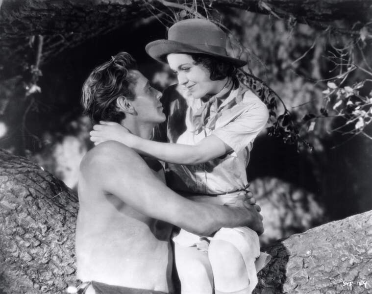 En 1932 c'est au tour de Johnny Weissmuller de jouer l'homme de la jungle