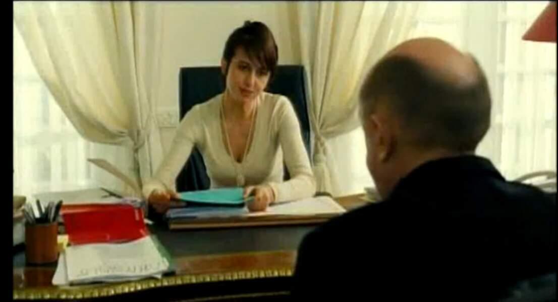 Face à Michel Blanc dans Je vous trouve très beau (2005)