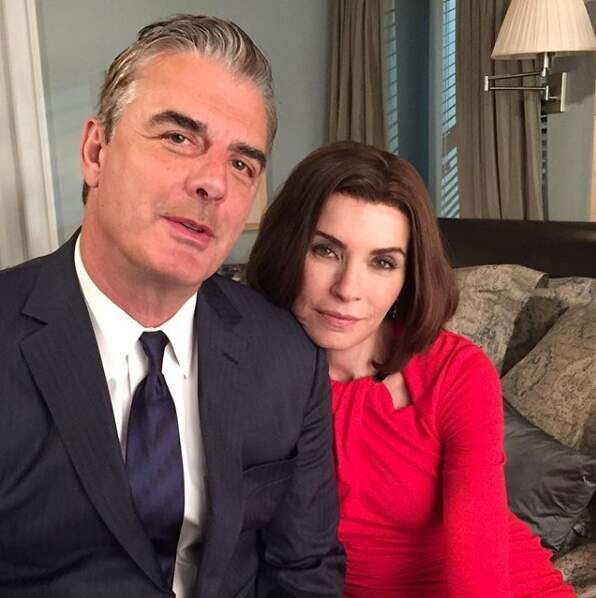 Julianna Margulies et Chris Noth réunis pour dire adieu à The Good Wife.