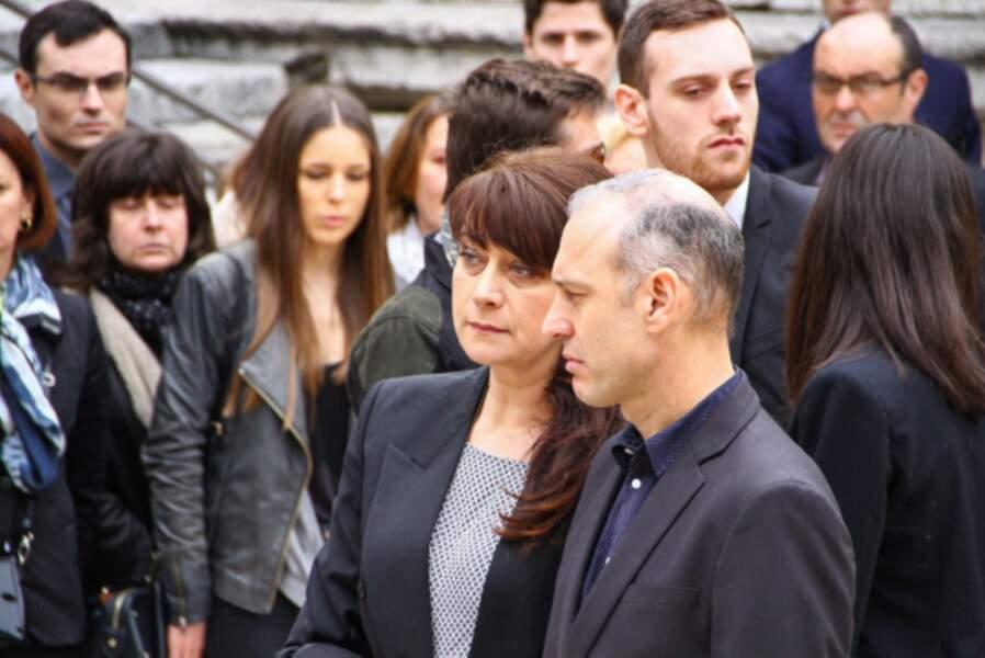 Laurence et Guy Muffat, les parents de Camille