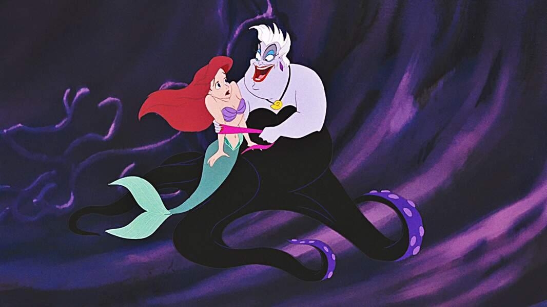 Ursula n'est pas tendre avec Ariel, la petite sirène. Ce qu'elle veut ? Sa voix !