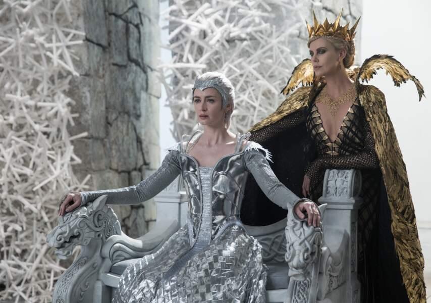 Dans le film, elle affronte sa soeur Freya, la reine des glaces