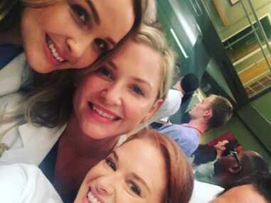 Tout le casting de Grey's Anatomy ravi de se retrouver, Esprits Criminels de retour sur les plateaux... Le diapo tournage des séries-télé