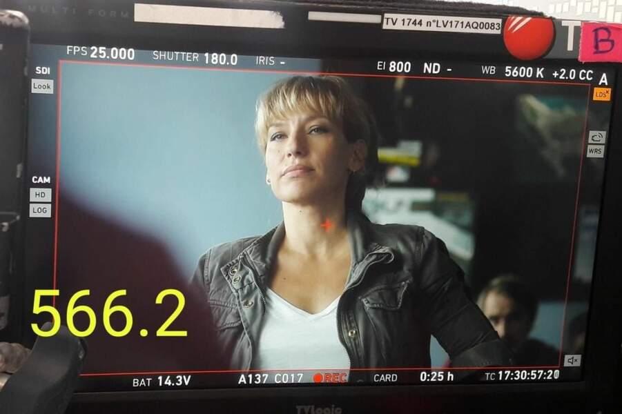 Julie Debazac assure dans le rôle d'Aurore dans Demain nous appartient