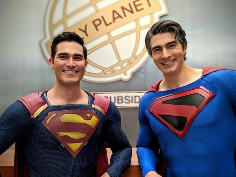 ll y a des Superman pour tous les goûts : les jeunes et les grisonnants !