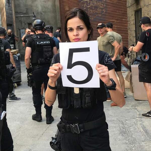 Lina Esco, qui joue Christina Alonso dans SWAT, est bien mystérieuse