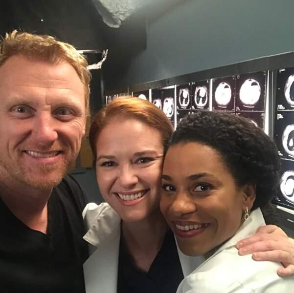 Malgré son départ de la série Grey's Anatomy, Sarah Drew garde le sourire !