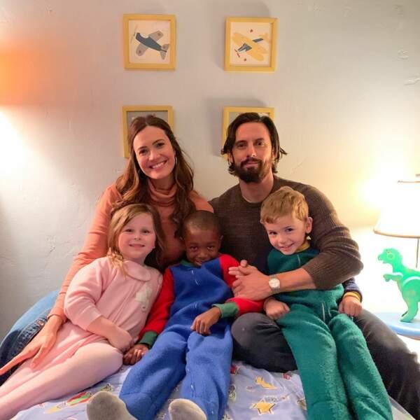 Mandy Moore et ses complices de This Is Us la jouent portrait de la famille parfaite