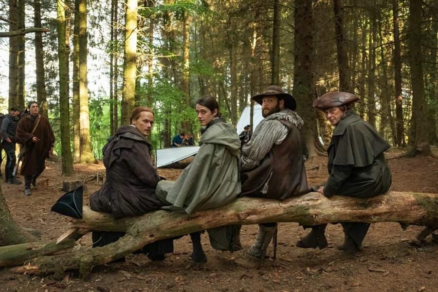 Sur le tournage d'Outlander, il ne vaut mieux pas chercher les comédiens…
