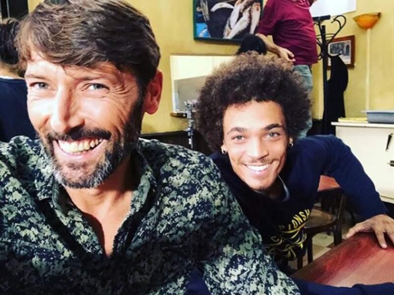 Laurent Kérusoré et Bryan Trésor, père et fils dans PBLV