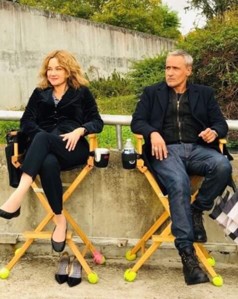 Marine Delterme et Jean-Michel Tinivelli tournent la saison 17 d'Alice Nevers