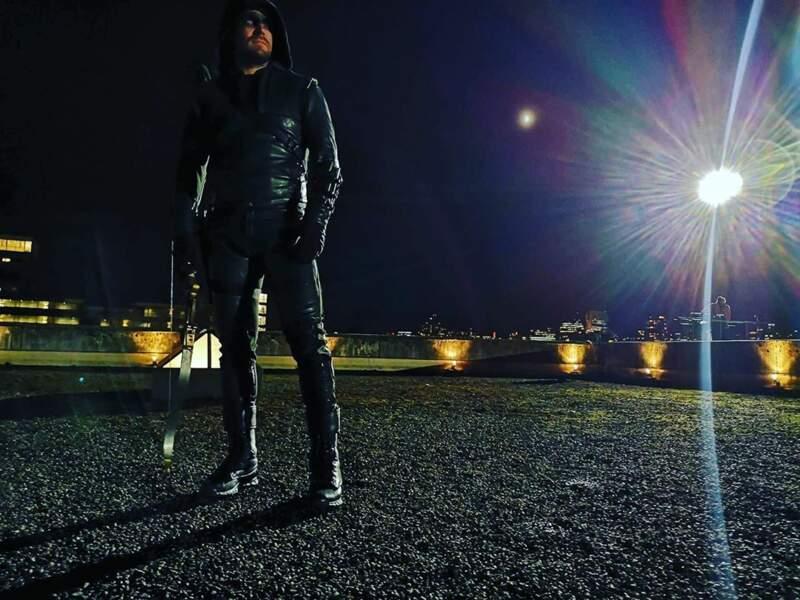 La fin est proche pour Arrow ! Stephen Amell a annoncé que c'était la dernière fois qu'il portait le costume du justicier