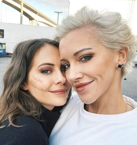 Ayant commencé l'aventure Arrow ensemble dès le premier jour, Katie Cassidy et Willa Holland sont devenues de très bonnes amies