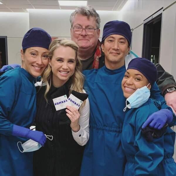Sur le tournage de Good Doctor, les acteurs font une bonne action en soutenant une association