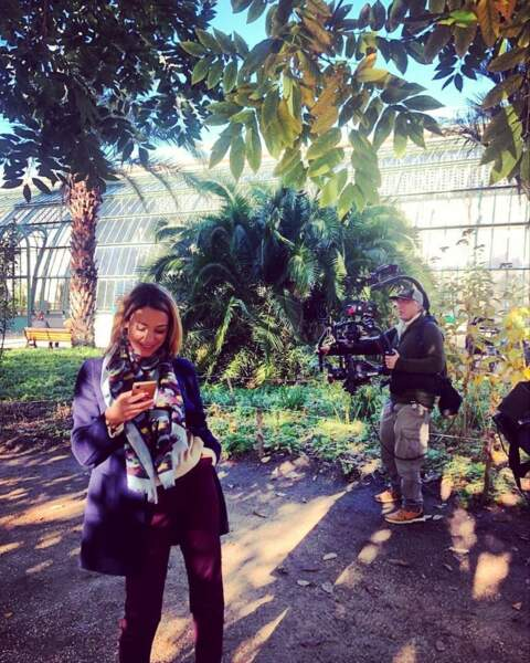 Alors qu'Emma Colberti aime bien flâner de temps en temps durant le tournage d'Un si grand soleil