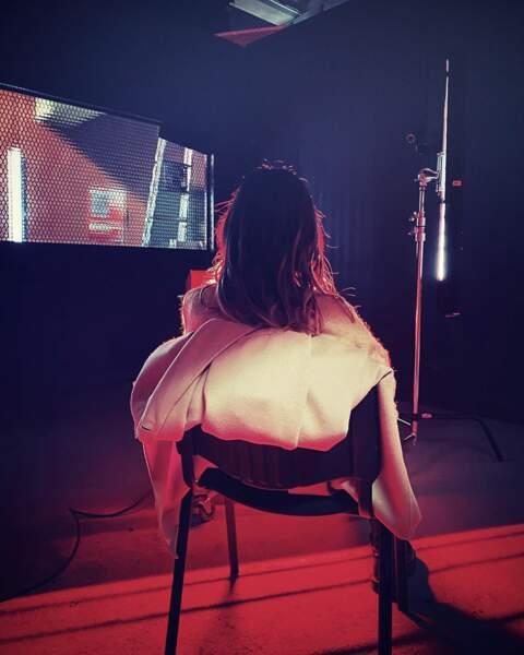 À quoi peut bien penser Shy'm sur le tournage de Profilage ?