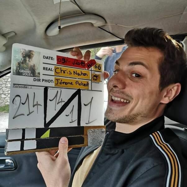 Peu importe les situations, Stéphane Monpetit (Eliott) a toujours le sourire