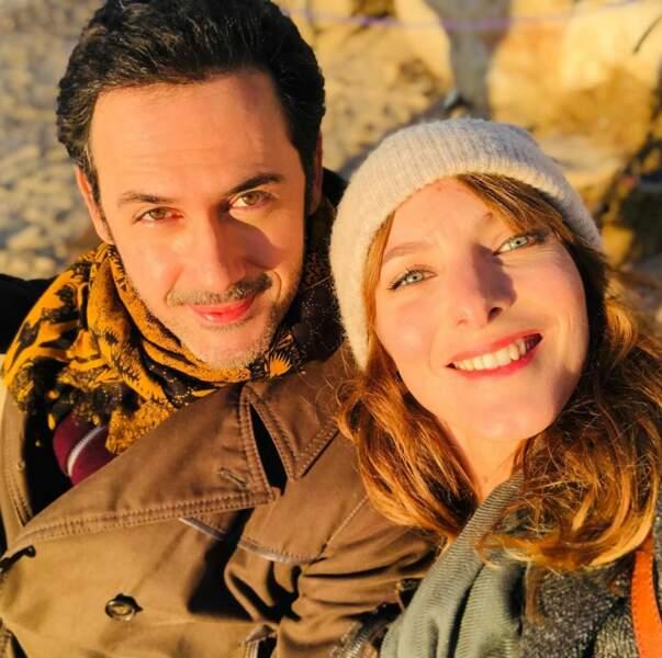 Si à Sète le soleil se cache, il est bien présent à Marseille ! Elodie Varlet et Emanuele Giorgi en profitent pour prendre un peu de couleurs