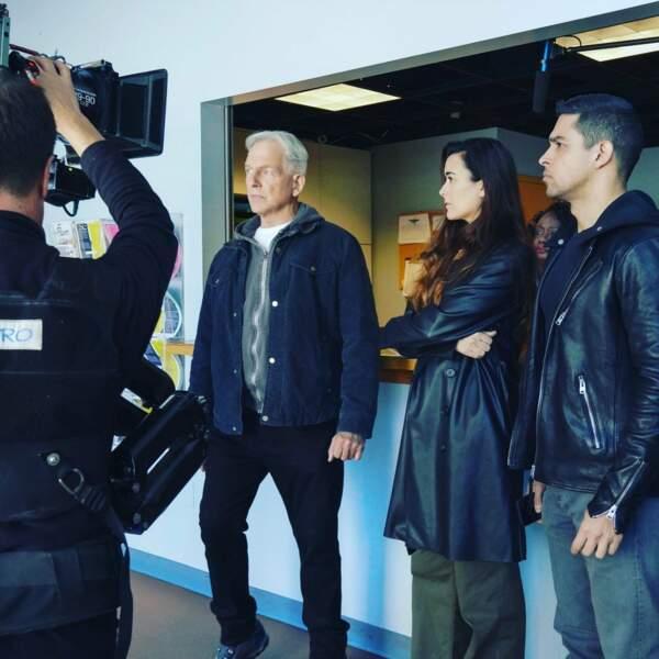 Du côté de NCIS, le sérieux est de rigueur pour le dernier épisode de Cote de Pablo (Ziva) dans la série