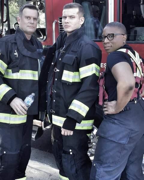 Alors que les pompiers de 9-1-1 ont repris du service et sont très concentrés sur le tournage