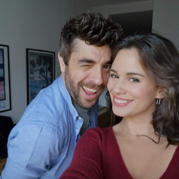 Agustín Galiana et Lucie Lucas sont ravis de se retrouver pour le tournage de Clem